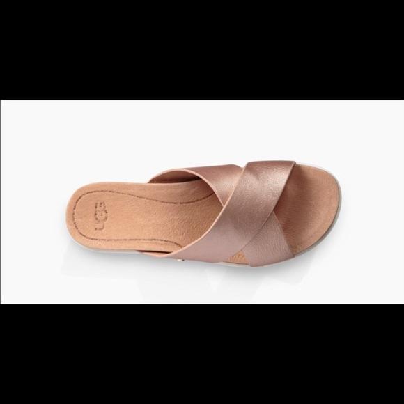 c6adb558236 Ugg Kari Sandal in Rose Gold
